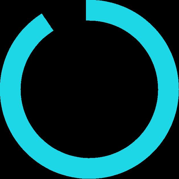 Blue circle diagram
